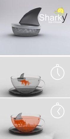 Shark tea-infuser by barbra