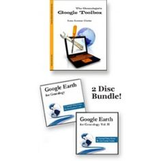 The Genealogist's Google Toolbox Plus! Google Earth for Genealogy DVD Volume I & II by Lisa Louise Cooke