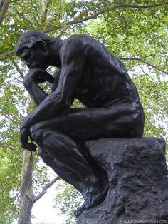The Thinker, Rodin Museum, #Philadelphia, http://VIPsAccess.com/luxury-hotels-philadelphia.html