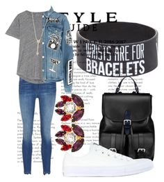 """""""Saturday morning"""" by captain-chan ❤ liked on Polyvore featuring Madewell, Frame, EF Collection, Aspinal of London, Dolce&Gabbana and Converse"""