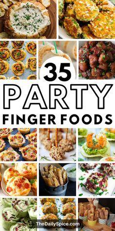 Bite Size Appetizers, Finger Food Appetizers, Holiday Appetizers, Yummy Appetizers, Appetizer Recipes, Holiday Recipes, Party Appetizers, Tapas, Party Dishes