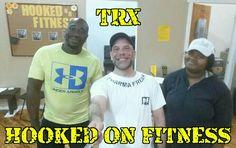 #TRX plus #Bosu balls equals one heck of a core workout! Way to hang guys!  #HookedOnFitness #GroupFitness #PhillyPersonalTrainer #BestInPhilly #BestInPhillyJustGotBetter #FitFam www.hookedonfitness.net