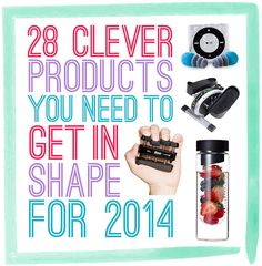 28 Clever Products You Need To Get In Shape For 2014 - You are now one step closer to keeping that New Year's resolution.