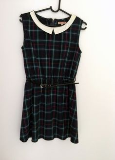 Kup mój przedmiot na #Vinted http://www.vinted.pl/kobiety/krotkie-sukienki/9826625-krotka-sukienka-jak-szkolna