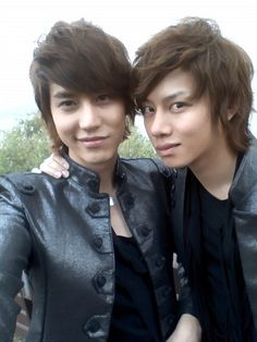 Super Junior's Kyuhyun and Heechul They're bad bitches