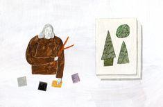 イラストレーター | 秋山花 | Hana Akiyama | Other Illustrations And Posters, Hana, Designs To Draw, Feather, Illustration Art, Doodles, Lettering, Wall Art, Illustrator