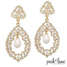 FOREVER YOURS EARRINGS -2015 Fall Collection- www.parklanejewelry.com