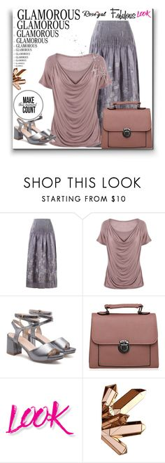 """Rosegal"" by maya-devojka ❤ liked on Polyvore featuring NYX and Reflections"