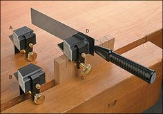 Veritas® Dovetail Saw Guide System - Woodworking