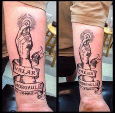 Floyd Guinn, Redeeming Tattoos, Tyler TX.