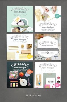 Little Urbanic ads. We can't figure out which one we love best! opinions?