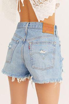 Denim Levis, Levis 501, Distressed Denim Shorts, Cargo Jeans, Skinny Jeans, Levi's Shorts, Denim Shorts Outfit, Best Shorts, Outfits