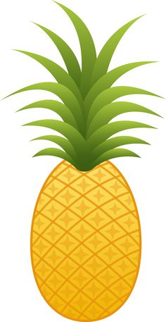 This high quality free PNG image without any background is about pineapple, ananas comosus, coalesced berries, pineapples and clipart. Pineapple Clipart, Pineapple Fruit, Flamingo Rosa, Flamingo Party, Pineapple Pictures, Pineapple Illustration, Watermelon Birthday, Clip Art, Tropical