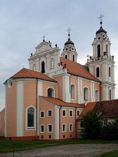 The Church of St. Catherine in Vilnius