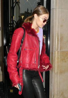 Gigi Hadid out in Paris