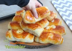 No wonder the Softer None of this Pastry dough - like fluffy cotton Roll Pastry Recipe Donut Recipes, Pastry Recipes, Comfort Food, Turkish Recipes, Snacks, Hot Dog Buns, Food And Drink, Bread, Meals