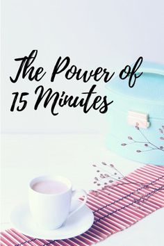 Let's Plan Our Tomorrow - The Power of 15 Minutes - Let's Plan Our Tomorrow