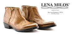 LENA MILOS women vintage boots from ss14collection #lenamilos #vintage #moda #boots #fashion #brand #madeinitaly #summer #follows #footwear