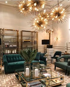 Glam Living Room, Elegant Living Room, Living Room Lighting, Home And Living, Living Room Decor, Living Room Goals, Living Room Inspiration, Home Decor Inspiration, Design Inspiration