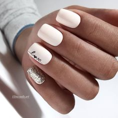 100 Trendy Stunning Manicure Ideas For Short Acrylic Nails Design - Page 96 of 101 Free patte. : 100 Trendy Stunning Manicure Ideas For Short Acrylic Nails Design - Page 96 of 101 Pink Wedding Nails, Wedding Nails Design, Pink Nails, My Nails, Nail Designs For Weddings, White Nails With Glitter, Wedding Nails For Bride Natural, Wedding Manicure, White Nail Art