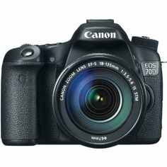 $1,449.00-List Price -Canon EOS 70D 20.2 MP Digital SLR Camera with Dual Pixel CMOS AF and EF-S 18-135mm F3.5-5.6 IS STM Kit-Capture each & Every Holiday Thrill...