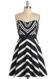 Chevron the Dance Floor Dress