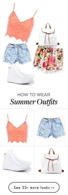 """""""the summer at school outfit"""" by queenlya on Polyvore"""