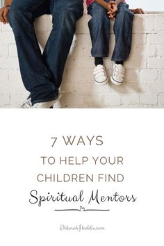 Certainly, the Bible declares the importance of spiritual mentoring. We need mentors. Our children need mentors. And even though parents are to be the primary disciplers of their family, children need spiritual community. So, how do we go about locating such people? Christian Post, Christian Women, Christian Living, Article About Family, Biblical Inspiration, Christian Families, Bible Truth, Christian Encouragement, Christian Parenting