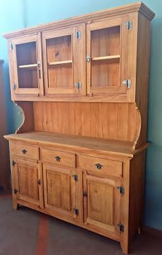 Tv Unit Furniture, Woodworking Furniture, Pallet Furniture, Kitchen Furniture, Furniture Decor, Furniture Design, Dinning Room Cabinet, Wood Bed Design, Living Room Tv Unit