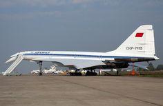 - Soviet supersonic airliner, Tupolev developed in the the world& first supersonic airliner, airlines . Tupolev Tu 144, Sud Aviation, Civil Aviation, Concorde, Aeroflot Airlines, Russian Plane, Rolls Royce, Boeing 727, Vintage Airplanes