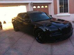 22 Inch Black Out Chrysler 300 C 300c Wheels Rims 5 L Sexy Cars
