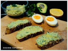 Pasta z awokado i jajka do kanapek (South Beach)