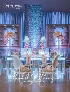 Head Tables - Wedding Decor Toronto Rachel A. Clingen Wedding