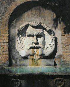 Fontana del Mascherone di Santa Sabina, Rome