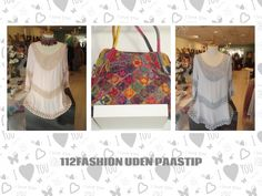 112Fashion - Uden Beautifull top for the special price of 22,95 euro only this week (untill 29/03) Leather bags available from 39,95 euro.