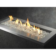 You'll love the Crystal Fiberglass Propane and Natural Gas Fire Pit at Wayfair - Great Deals on all Outdoor  products with Free Shipping on most stuff, even the big stuff.