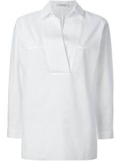 Shop Iceberg v-neck blouse  in Stefania Mode from the world's best independent boutiques at farfetch.com. Over 1500 brands from 300 boutiques in one website.