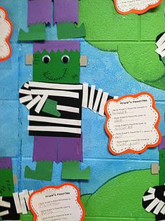 Life in First Grade: Inferring with Frank! (Halloween Crafts First Grade) Fete Halloween, Halloween Themes, Halloween Crafts, Halloween Fairy, Disney Halloween, Halloween Stuff, Baby Halloween, Halloween Activities, Holiday Activities