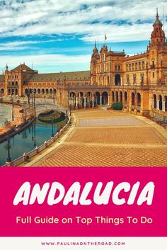 Are you planning a trip to beautiful andalucia, spain? check out this full guide Andalusia, Andalucia Spain, Cool Places To Visit, Places To Go, Beste Hotels, Spain Holidays, Spain Travel, Travel Europe, Europe Destinations