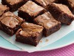 Peanut Butter Caramel Swirled Brownies