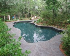 Going for a natural look? Try this lagoon-style pool on for size. Located in Dunes West, Mount Pleasant.