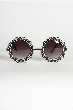 Marie Claire Circle Lenses - Black