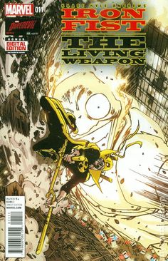 Iron Fist The Living Weapon (2014) 11  Marvel Comics Modern Age Comic book covers Super Heroes  Villians