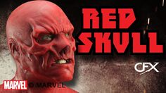 CFX Mask MARVEL's The Red Skull silicone mask