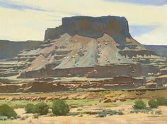 Ray Roberts (American, born 1954) Dead Horse Mesa, Canyonlands, Utah 30 x 40in overall: 37 1/2 x 47 1/2in