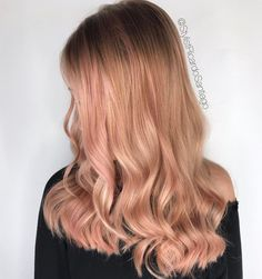 "126 Likes, 7 Comments - Ricardo Santiago✌️Orlando FL (@stylistricardosantiago) on Instagram: ""TREND COLOR OF THE DECADE // Rose Gold...please don't ask what I used, because I used everything!…"""