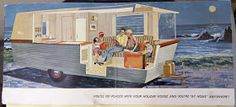 Travel Trailers: 1961 Holiday House Part I