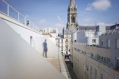Crèche et résidence étudiante _ Paris XXe _ Antoine Regnault Architecture