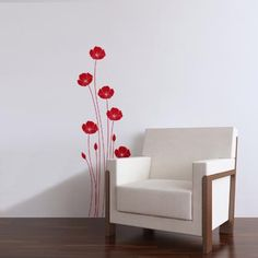 Poppies Wall Decals | Voila! Canada