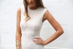 pre-order - celeste lace dress - ivory